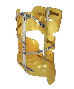 corset de maintien thoraco-lombo-sacré / pour scoliose