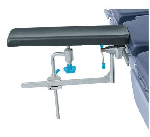 appui-bras / pour table d'opération / à hauteur variable / ajustable