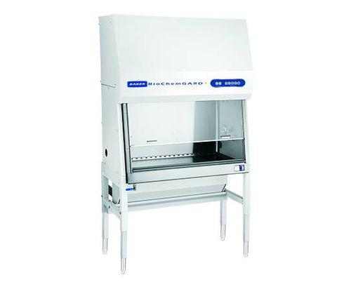 poste de sécurité biologique type B2 / de confinement / sur pied / avec vitre frontale verticale coulissante