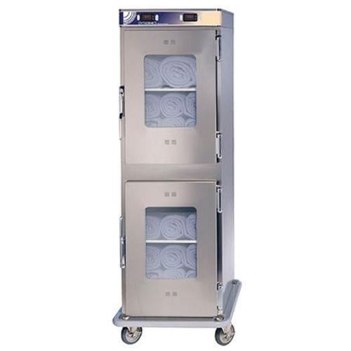 armoire chauffante / pour couvertures / de salle d'opération / avec étagère
