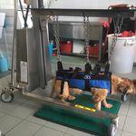 chariot multifonction / d'urgence / à pansement / de stérilisation