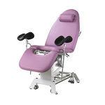 fauteuil d'examen gynécologique / hydraulique / à hauteur variable / avec dossier réglable