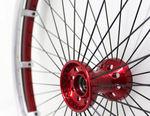 roue pour fauteuil roulant / en aluminium