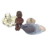 simulateur de grossesse / féminin / pelvis