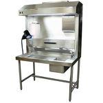 station de travail de laboratoire de macroscopie