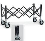 chariot mortuaire / de manutention / porte-cercueil / extensible