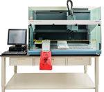 système de préparation d'échantillons de laboratoire / par pipettage / sérum / plasma
