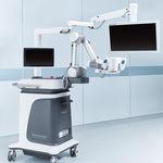 robot opératoire porte-microscope