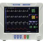 moniteur patient ECG / de fréquence respiratoire / de température / CO2