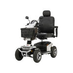 scooter électrique à 4 roues / avec panier