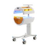 lampe de photothérapie néonatale / sur roulettes / lumière bleue