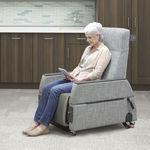 fauteuil d'examen général / électrique / sur roulettes / inclinable