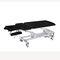 table de traitement hydraulique / sur roulettes / à hauteur variable / 2 sections