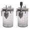 bocal pour aspirateur médical / en polysulfone