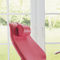 fauteuil de pédicure à hauteur variable / sur roulettes / 3 sections