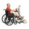 pédalier d'exercice bras et jambes / assis