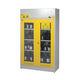 armoire pour produits chimiques / d'hôpital / avec étagère / 2 portes