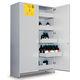 armoire de sécurité / pour produits chimiques / d'hôpital / avec étagère