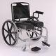 fauteuil roulant manuel / de douche / avec repose-jambes / pliable