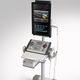 échographe portable, avec chariot / pour échographie urologique / doppler couleur / noir et blanc