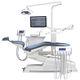 unité de soin dentaire avec fauteuil électromécanique / avec éclairage LED / avec moniteur / avec caméra intra-orale