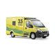 ambulance paramédicale / avec cellule rapportée / type B