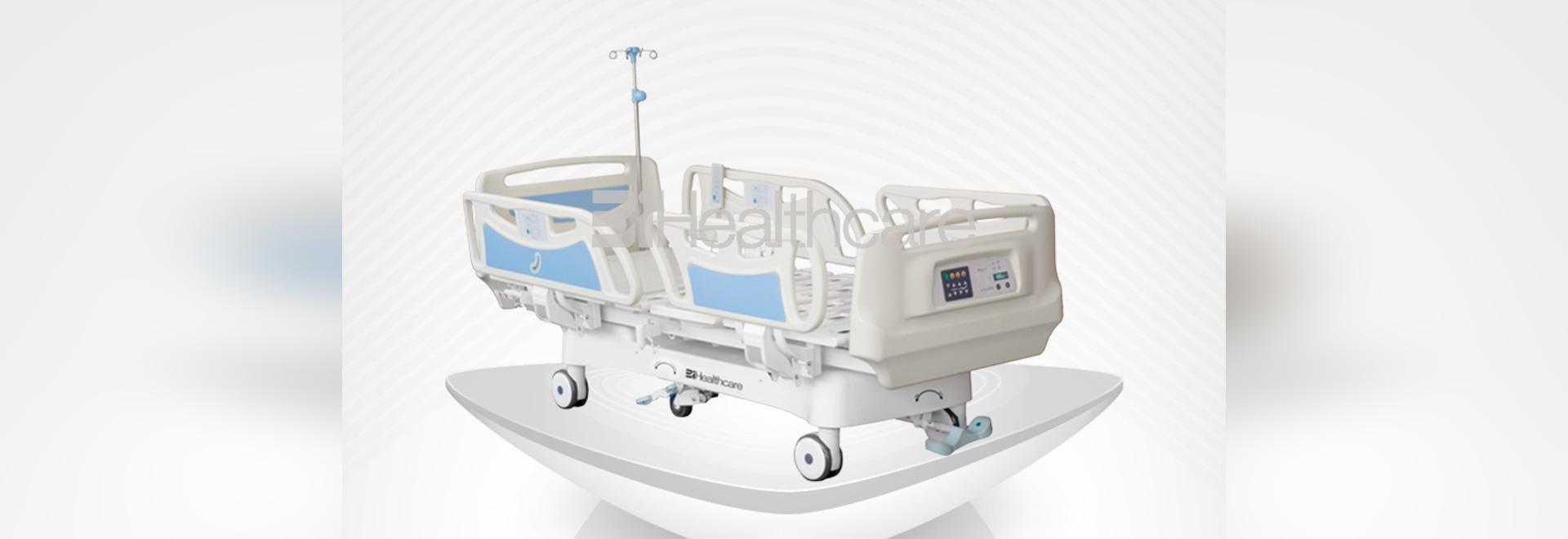 2017 nouveau lit du lit-Alphain ICU d'hôpital d'ICU construit par BiHealthcare