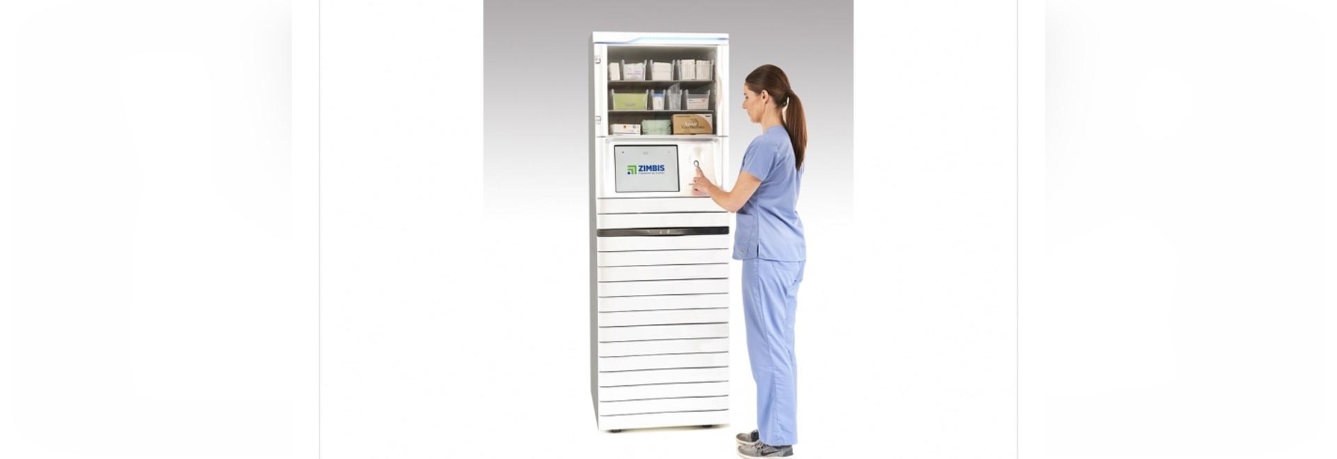 Les armoires sont dotées d'un système de distribution automatisé pour réduire les coûts