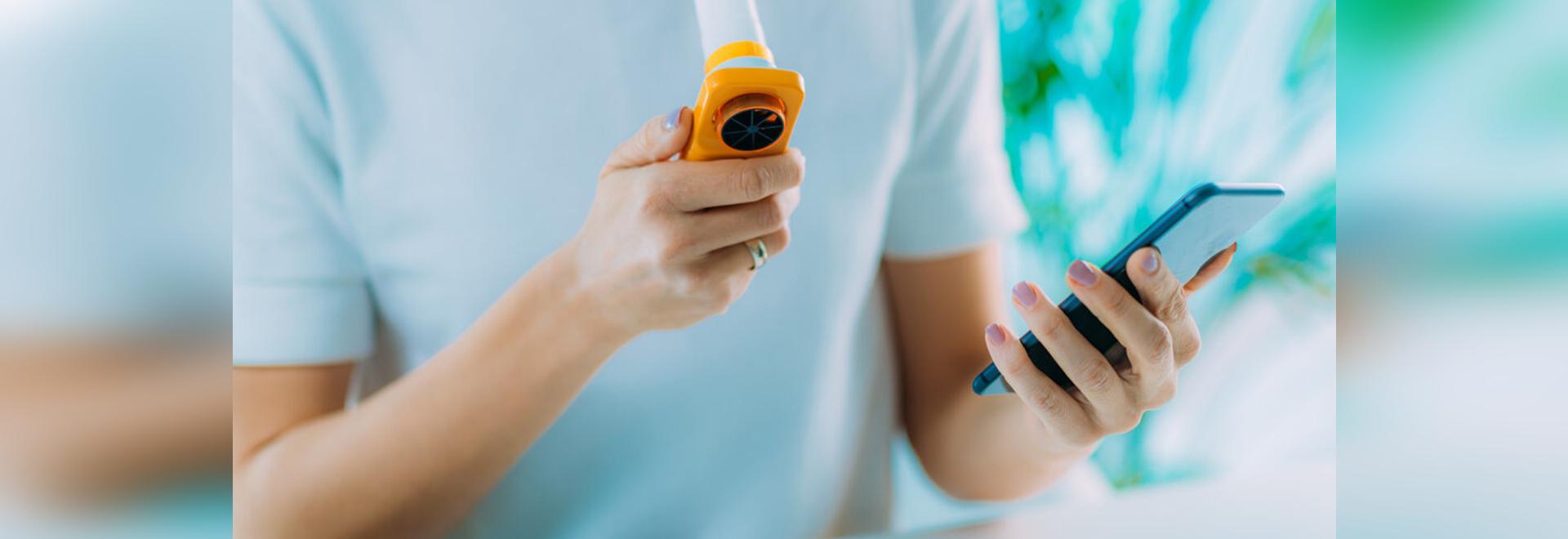 L'asthme : Autogestion grâce à des applications et des vêtements
