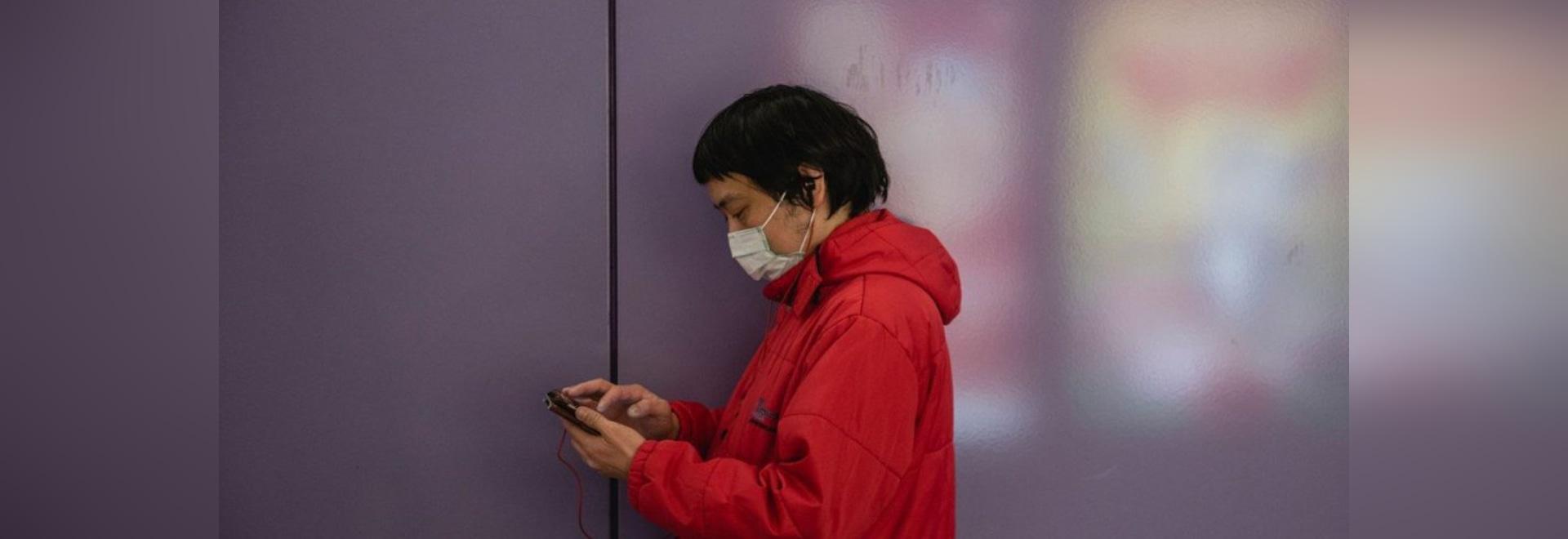 La Chine a lancé une application pour que les gens puissent vérifier leur risque d'attraper le coronavirus