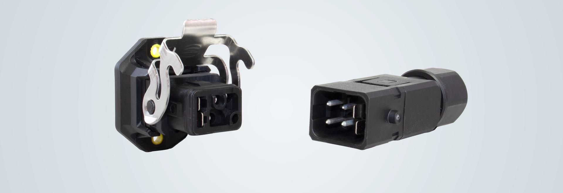 Connecteur d'appareil industriel