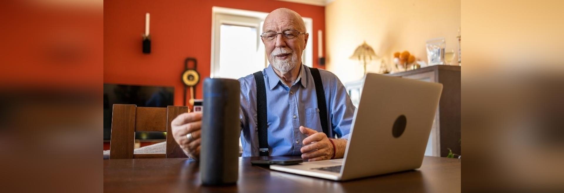Une étude observe les personnes âgées et la technologie intelligente