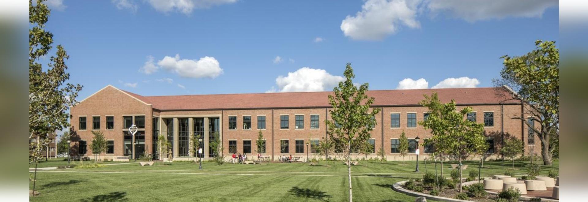 Évêque Gerber Science Center et Eck Hall Renovations, université de Newman, Wichita, le Kansas