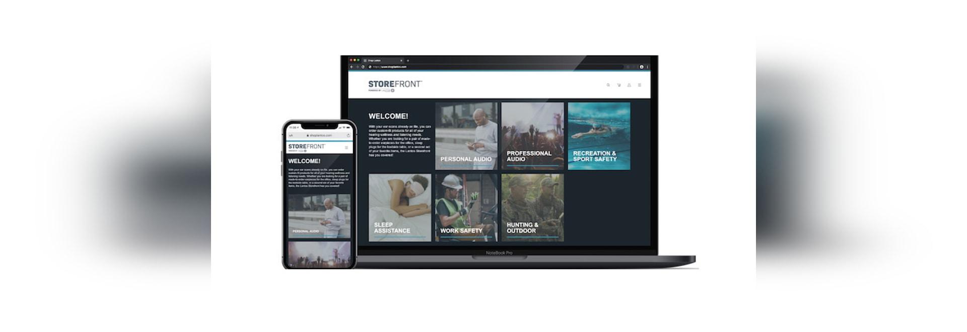 Lantos lance un portail de produits intra-auriculaires B2C à distance