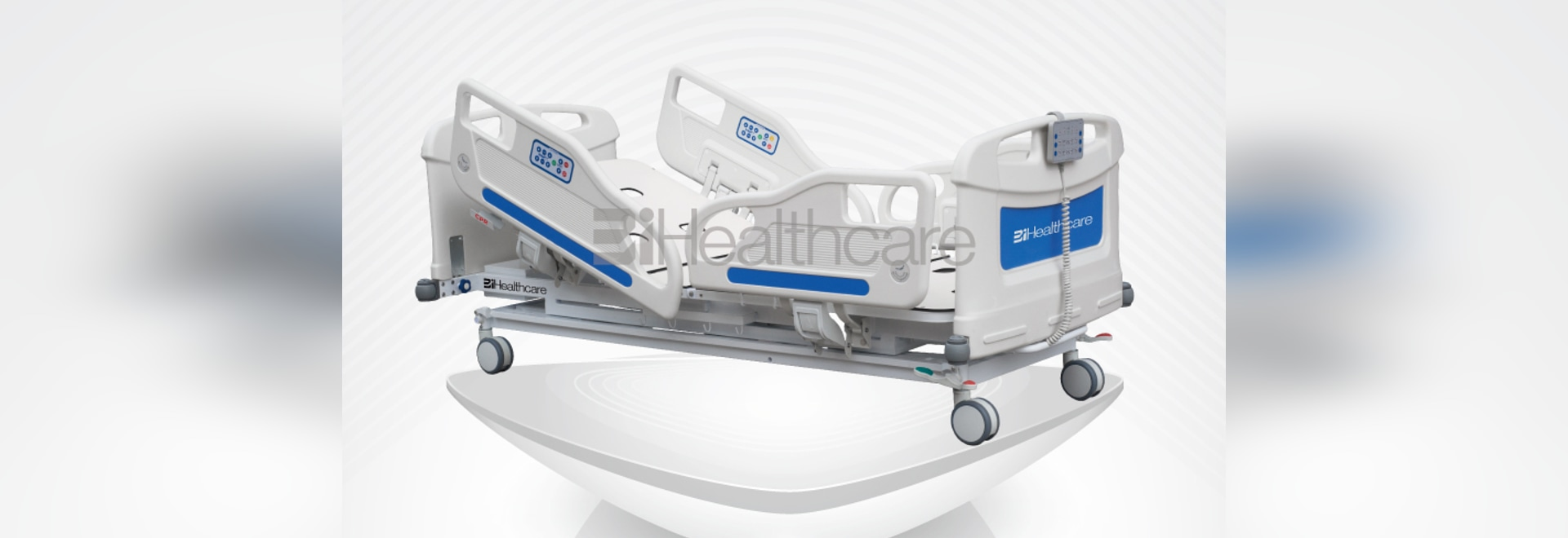 Lit d'hôpital électrique de Comfocare de BiHealthcare