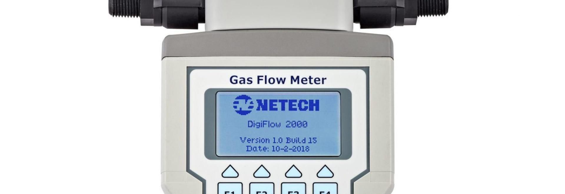 Netech Corp. Introduction de nouveaux débitmètres de gaz