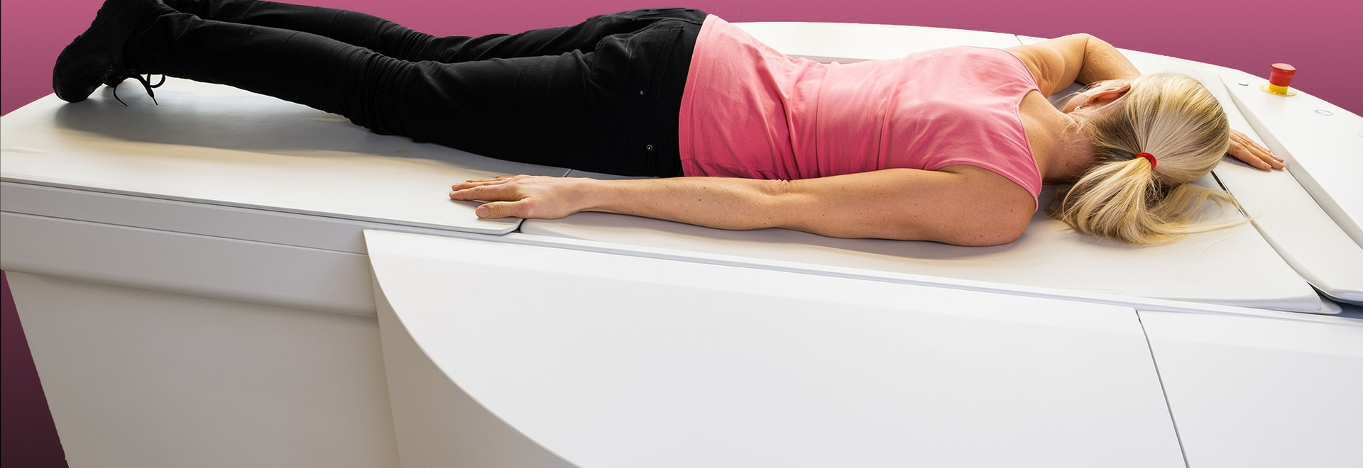 Le premier scanner mammaire spiralé au monde