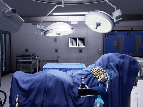 Exclusivité avec OS de précision, Surgery VR Company orthopédique
