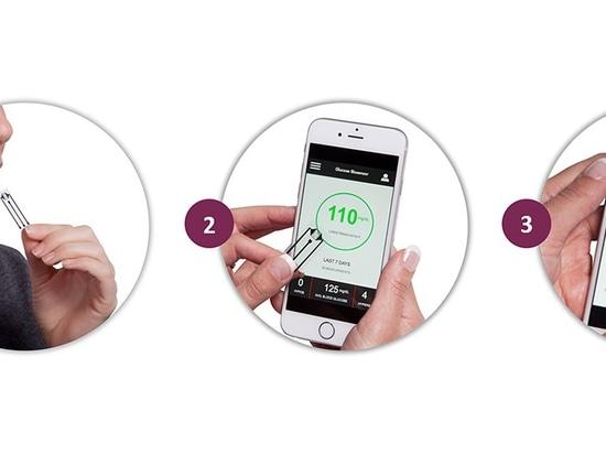 Le nouveau biocapteur mesure exactement le glucose en salive