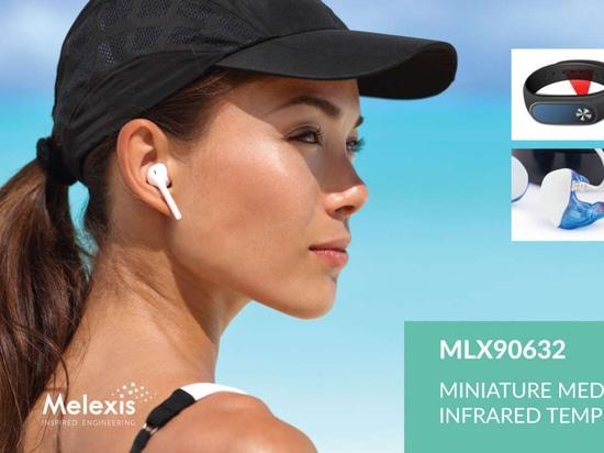 Melexis annonce le plus petit capteur FIR de catégorie médicale au monde