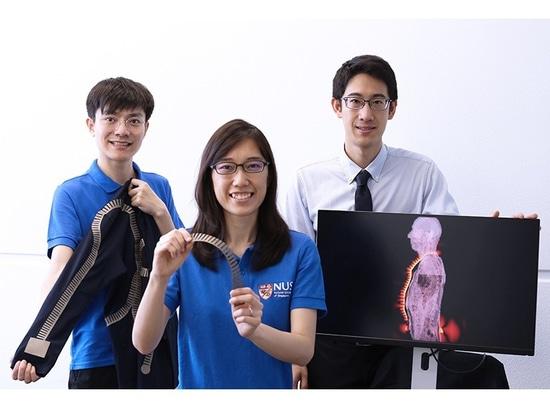 Smart Textiles' améliore considérablement la connectivité entre les capteurs portables