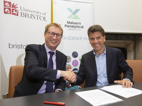 Collaboration entre l'Université de Bristol et Malvern Panalytical pour stimuler l'expertise en science des données et en technologies numériques