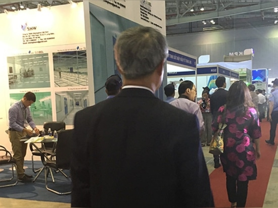 Vietnam Hu Zhiming Medical Exhibition , stand n° F22