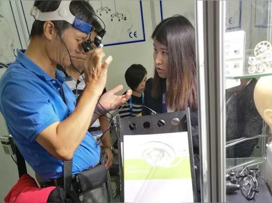 China Medical Equipment Fair ICMD à Shenzhen.