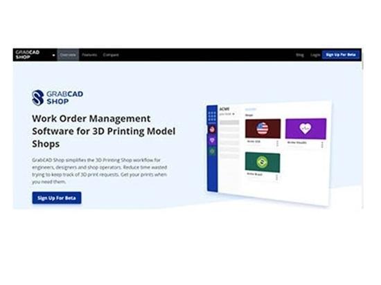 Logiciel de gestion des bons de travail de Stratasys pour les ateliers d'impression 3D