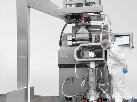 Compacteur à rouleaux BRC 100 - Exécution du confinement