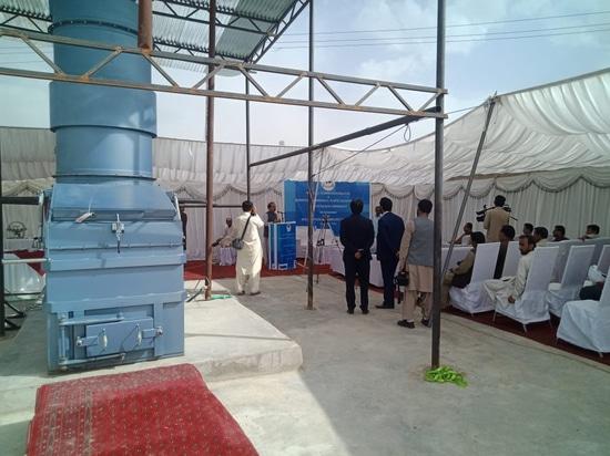 Installation et ouverture d'une installation de traitement des déchets médicaux