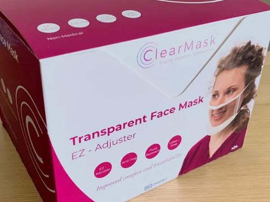 ClearMask, un masque entièrement transparent et sans buée qui s'est vendu à plus de 12 millions d'exemplaires
