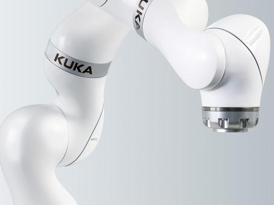 Le LBR Med de Kuka, un robot collaboratif pour les applications médicales.