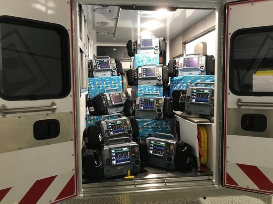 Le transport médical Spirit reçoit de nouveaux véhicules et équipements